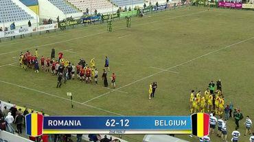 La Belgique balayée 62-12 par la Roumanie au Rugby Europe Championship