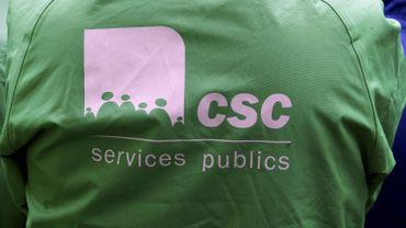 Le logo de la CSC