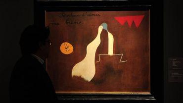 Une oeuvre de Joan Miro