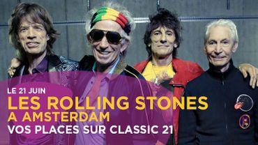 Les Stones à Amsterdam