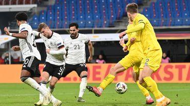 Avec un doublé de Timo Werner, l'Allemagne a battu samedi l'Ukraine 3-1 en Ligue des nations à Leipzig.