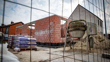 Un chantier à l'arrêt (image d'archive)