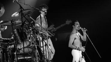 Queen sur scène en 1984