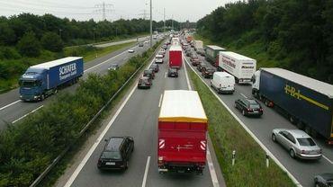 Illustration - Toujours trop de camions sur les routes d'Europe