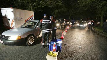 Borinage: plus de 7% des conducteurs contrôlés avaient bu