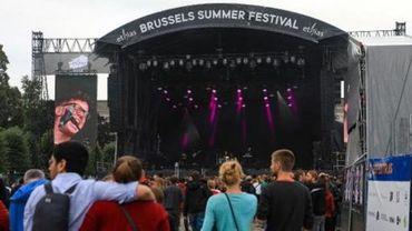 Brussels Summer Festival: environ 57.000 festivaliers sur 5 jours de programmation