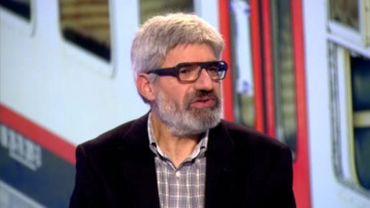 """Panayotis Andronikos, père d'une victime et vice-président de l'association """"Catastrophe ferroviaire de Buizingen : plus jamais""""."""