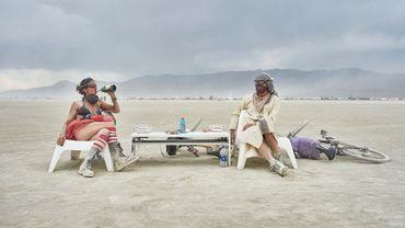 """""""Burning Man : sous la poussière, la plage"""""""
