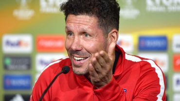 Suspendu, Simeone a confiance en son assistant pour la finale de l'Europa League