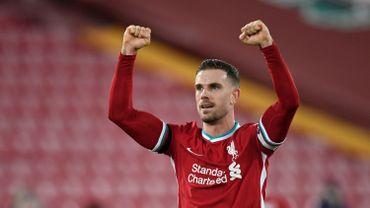 Jordan Henderson , capitaine de Liverpool