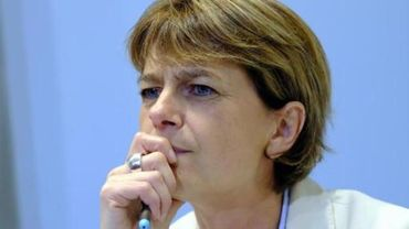 La ministre wallonne des Pouvoirs locaux, Valérie De Bue (MR)