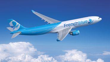 French Blue, la toute jeune filiale low-cost long-courrier de la compagnie française Air Caraïbes.