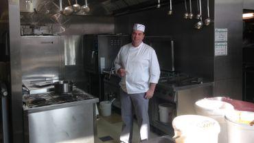 C'est Frédéric Catoul qui dirige dorénavant la cuisine collective située à la Paix-Dieu.