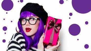 """Noël : une panoplie d'accessoires """"ultra violet"""" pour pimenter votre look"""