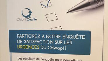 L'enquête de satisfaction sur les Urgences du CHwapi