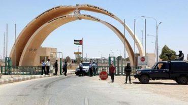 La frontière jordano-syrienne