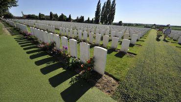 Cimetière de Paschendaele, le champ de bataille le plus meurtrier de la première guerre mondiale