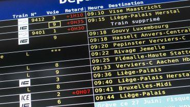 Quel avenir pour le rail liégeois ? Un syndicat cheminot a donné la liste de ses priorités.
