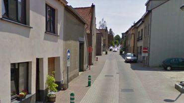 La rue Joseph Van Hove, à Kraainem, où le corps a été trouvé.