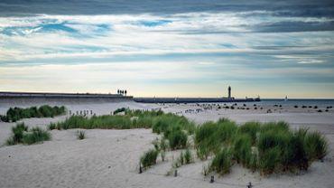 La plage de Dunkerque.
