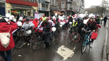Liège: une cyclo-parade féministe pour la journée internationale des droits des femmes