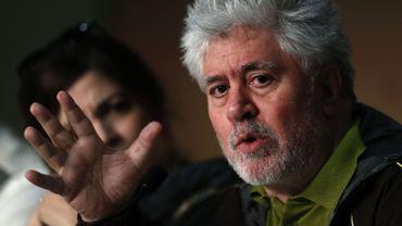 Pedro Almodovar lors de la conférence de presse du jury, mercredi 17 mai.