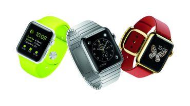 L'Apple Watch, telle que présentée en septembre 2014, devait se décliner en trois modèles : classique, sport et luxueux.