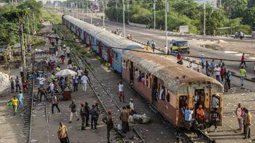 Image d'illustration: un train à Kinshasa