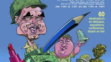 Le Festival International de la caricature et du dessin de presse quitte Rouvroy pour Bastogne.
