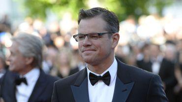 """Matt Damon, actuellement à l'affiche de """"Monuments Men"""""""