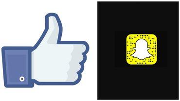 Hyper populaire chez les jeunes, Snapchat reste dans l'ombre de Facebook