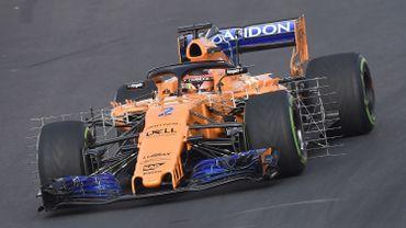 La McLaren MCL33 de Stoffel Vandoorne