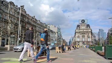 Place De Brouckère, Bruxelles