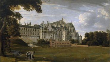 Le Palais du Coudenberg en 1627