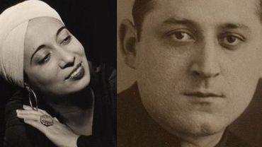 Les amants Elsie Houston et Benjamin Péret
