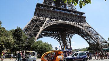 Top départ pour les travaux de sécurisation à la tour Eiffel, avec paroi de verre