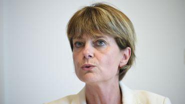 La ministre wallonne des Pouvoirs locaux Valérie De Bue