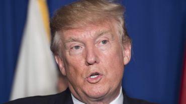 Le président américain Donald Trump.