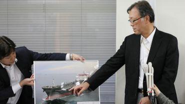 """Tensions dans le Golfe: Mer d'Oman: les marins du pétrolier japonais ont vu """"un objet volant"""""""