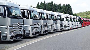 Plus de camions sur les routes régionales flamandes ? Et pour la Wallonie ?