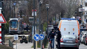 Raid à Schaerbeek le 25 mars 2016 dans le cadre de cette enquête