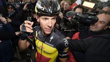 Philippe Gilbert forfait pour le Giro