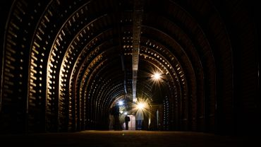 Les tunnels de guerre oubliés de Douvres retrouvent la lumière