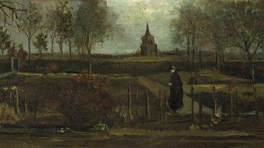 """""""Le Jardin du presbytère de Nuenen au printemps"""", de Vincent van Gogh."""