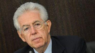 Le président du Conseil italien, Mario Monti, à Rome le 24 septembre 2012