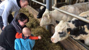 Beaucoup de visites dans les fermes, malgré la météo