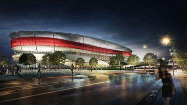 Le stade national de Ghelamco.