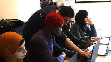 Une école de codage informatique pour les réfugiés résidant à Liège