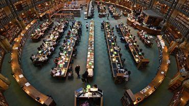 """Grâce à cette opération, le BNF espère récolter 500 000 euros (ici la salle de lecture, dite """"Salle Ovale"""")"""