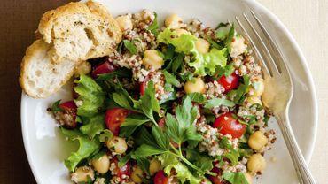 Recette : la salade de #quinoa aux haricots en un tweet